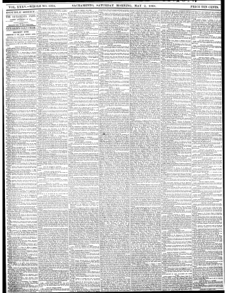 Sacramento Union, May 2, 1868 (p.1)